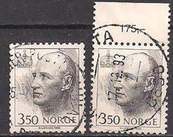 Norwegen  (1993)  Mi.Nr.  1117 X + Y Gest. / Used  (2ev21) - Gebraucht