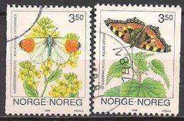 Norwegen  (1993)  Mi.Nr.  1114 + 1115  Gest. / Used  (2ev22) - Gebraucht
