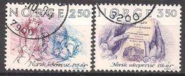 Norwegen  (1984)  Mi.Nr.  911 + 912  Gest. / Used  (2ev23) - Norwegen