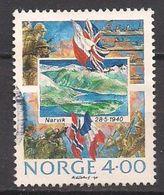 Norwegen  (1990)  Mi.Nr.  1043  Gest. / Used  (2ev24) - Norwegen