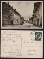 ZELL AM HARMERSBACH - BADEN /1934 ECHTE FOTO AK - UNTERE HAUPTSTRASSE NACH KEHL AM RHEIN  (ref CP579) - Germany