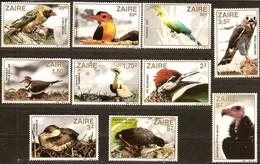 Zaire 1982 OCBn°  1170-1179  *** MNH Cote 12,50 Euro   Oiseaux Vogels Birds - Zaïre