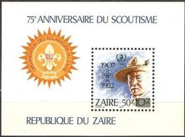Zaire 1985 OCBn°  Bloc 62  *** MNH Cote 12,00 Euro   Padvinders Scoutisme - Zaïre