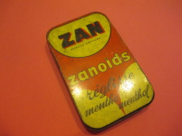 Boite Métallique Ancienne / ZAN/ Zanoïds Réglisse/Menthe-Menthol/Uzés-Marseille/ Vers 1950-1960    BFPP198 - Boxes