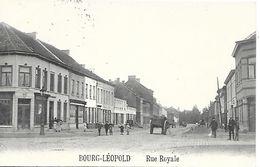 CPA / PK / AK    BOURG-LÉOPOLD   Rue Royale - Leopoldsburg