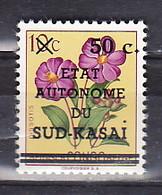 Sud Kasaï - Zuid KasaÏ  Nr 4V  Neufs - Postfris - MNH   (XX) V= & Point Sur KasaÏ  - 1 Punt Op KasaÏ - South-Kasaï