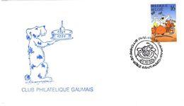 BELGIQUE 2578 FDC 1er Jour Enveloppe CUBITUS Dommel DUPA Cachet Saint-Mard Comics Bande Dessinée Journal TINTIN 5 - Comics