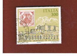ITALIA REPUBBLICA  - SASS. 1739  -      1985  ITALIA 85, ANTICHI STATI ITALIANI: NAPOLI       -      USATO - 6. 1946-.. República
