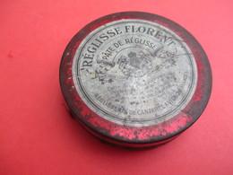 Boite Métallique Ancienne /Réglisse Florent/ Pâte De Réglisse/Réglisserie De Cantarel/AVIGNON/ Vers 1950-1960    BFPP155 - Boîtes