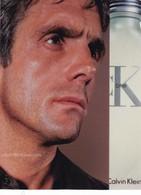 """CARTE PUBLICITAIRE   PARFUM    """" CALVIN   KLEIN """"  17,5 X13 Cm  ,,,, TBE - Perfume & Beauty"""