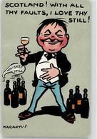 52490691 - Werbung Whiskey Sign. Karaktus - Humor