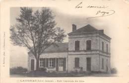 47 - LOT ET GARONNE / 47742 - Laugnac - Ecole Communale Des Filles - Autres Communes