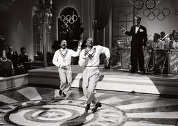 Grande Photo Originale Nicholas Brothers, Danseurs De Claquettes Afro-américains Dans Musik Im Blut 1955 - Kurt Widmann - Famous People