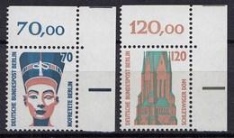 Berlin 1988 Mi. 814-15 ** Sehenswürdigkeiten Eckrand RO LUXUS   (20853 - [5] Berlín