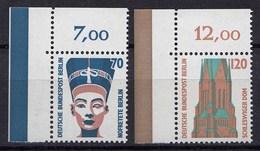 Berlin 1988 Mi. 814-15 ** Sehenswürdigkeiten Eckrand LO LUXUS   (20854 - [5] Berlín