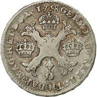 Monnaie, AUSTRIAN NETHERLANDS, Maria Theresa, 1/2 Kronenthaler, 1758, Bruxelles - ...-1831