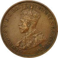Monnaie, Australie, George V, Penny, 1918, Calcutta, TTB+, Bronze, KM 23 - Penny