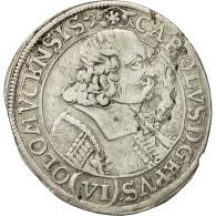 Monnaie, Autriche, Olmutz, Karl II, 6 Kreuzer, 1683, TTB+, Argent - Austria