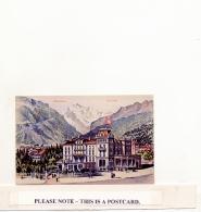 Postcard - Intlaken -  Eden Hotel - Card No. 2353 - VG - Postcards