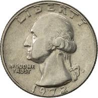 États-Unis, Washington Quarter, Quarter, 1972, U.S. Mint, Denver, TTB - Federal Issues