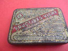 Boite Métallique Ancienne/Fructines-Vichy/ Constipation-Congestion/Vers 1930-1950 BFPP163 - Boxes