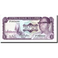 Billet, The Gambia, 1 Dalasi, UNDATED (1971-1987), KM:4g, SPL+ - Gambie