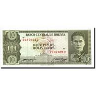 Billet, Bolivie, 10 Pesos Bolivianos, 1962, 1962, KM:154a, SPL - Bolivie