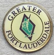 GREATER FORT LAUDERDALE - USA - FLORIDA - FLORIDE - ESPADON - PÊCHE AUX GROS   -        (JAUNE) - Cities