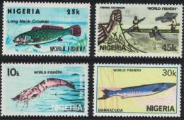Nigeria World Fishery Resources 4v SG#459-462 - Nigeria (1961-...)