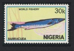 Nigeria Barracuda Fish 1v 30k SG#461 - Nigeria (1961-...)