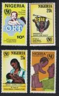 Nigeria 40th Anniversary Of UNICEF 4v SG#533-536 - Nigeria (1961-...)