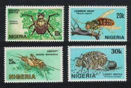 Nigeria Nigerian Insects 4v SG#528-531 - Nigeria (1961-...)