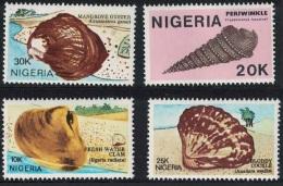 Nigeria Shells 4v SG#539-542 - Nigeria (1961-...)