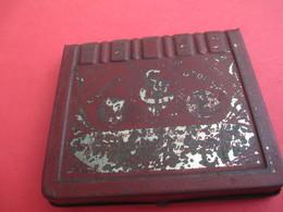 Boite Métallique Ancienne/Pastilles Du Dr GUYOT/Affections Gorge & Voies Respiratoires/ASNIERES/Vers 1900-1920 BFPP170 - Boîtes
