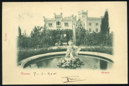 AUSTRIA 1900. Postcard With Lloyd Austriaco Pmk - Other