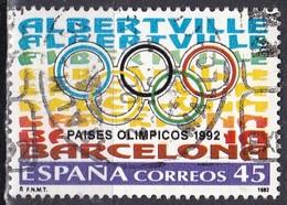 Spagna, 1992 - 45p Winter & Summer Olympics - Nr.2683 Usato° - 1931-Oggi: 2. Rep. - ... Juan Carlos I