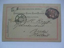 Austria - 1899 Postcard - Karlovy Vary (Karlsbad) To Breda Netherlands - 1850-1918 Empire