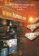 BILAL : Flyer HUMANOIDES,COM - Bilal
