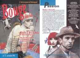 BILAL : Magazine BOUGE DE LA N°27 - Bilal