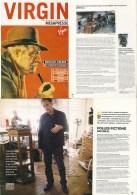 BILAL : Magazine VIRGIN PRESSE  (gabin , Simenon) - Bilal