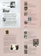 BILAL : Plaquette Presentation HUMANOIDES - Bilal