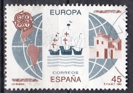 Spagna, 1992 - 45p Discovery Of America - Nr.2676 Usato° - 1931-Oggi: 2. Rep. - ... Juan Carlos I
