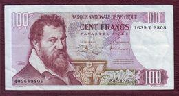 BELGIQUE - 100 Francs Lambert Lombard - 23/11/1971  - P.134b - [ 2] 1831-... : Belgian Kingdom