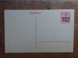 GERMANIA IMPERO - Occupazione Tedesca Della Romania - Cartolina Postale Nuova (B) + Spese Postali - Germany