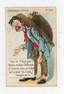 CPA Illustrateur Etrennes Utiles Pour Le 1er Janvier Reçois Ce Beau Chiffonnier Avec Sa Hotte 1908 - Illustrators & Photographers