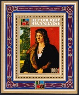 Rwanda Famous Paintings Durer MS SG#MS543 SC#522 - 1970-79: Neufs
