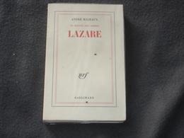Roman Gallimard   Lazare  De André  Malraux - Livres, BD, Revues