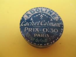 Boite Métallique Ancienne/ADOLINE/Cachet Calmant/Névralgie Migraines Goutte Rhumatisme/PARIS/Vers 1930-1950 BFPP175 - Cajas