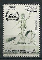 ESPAÑA 2018 - 250 Aniv. Del Circo - 2011-... Ungebraucht