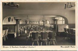 Foto AK München SS Standarte Deutschland Kantine 3 Mannschafts - Raum - Guerre 1939-45